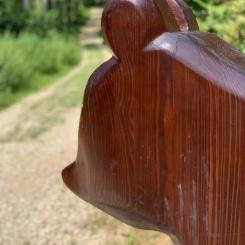Holzfiguren Walderlebnispfad Urbach