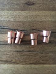 Rezuier-Muffen aus Kupfer
