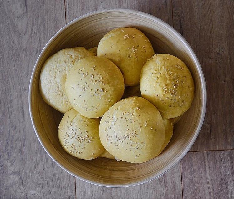 Süßkartoffelbrötchen