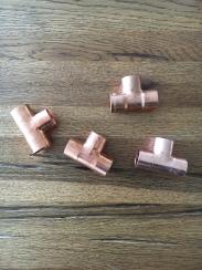 T-Stück Muffen aus Kupfer