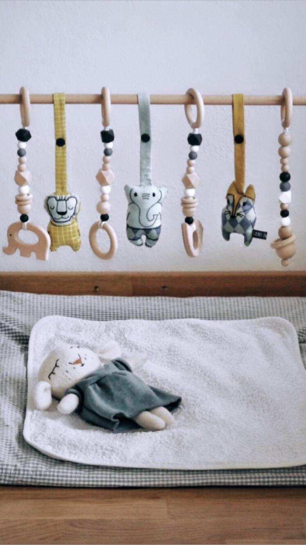 DIY Babygym in skandinavischen Stil