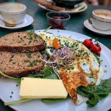 Eiweiss Omelette